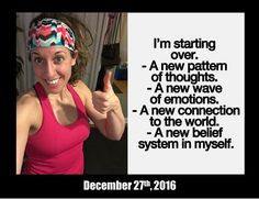 OMG...hallelujah ...it's a miracle!!!!!!!!!  I WORKED OUT!!!!!!!!  The last time you saw a sweaty selfie was Nov. 17th .  While the New Year is just around the corner I am not putting this off any longer.  It's amazing what a month-long-hiatus can do to you mentally...at least for me.    I have been battling super negative self-talk vicious body-image demons and unrealistic extremes with my goal-setting.  I am well-aware though.  I have gotten back into some personal self-development reading…