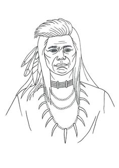Native American Coloring Pages | Native americans