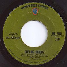 Dueling Banjos / Eric Weissburg & Steve Mandell / on Billboard 1973 70s Music, Music Songs, Good Music, Old Records, Vinyl Records, Dueling Banjos, Best Songs, Awesome Songs, Make Mine Music