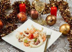 Карельские вести Новогодние рецепты салатов из морепродуктов (фото) Еда