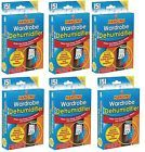 6x HANGING WARDROBE INTERIOR DEHUMIDIFIER DAMP MOULD MOISTURE CLOTHES NEW