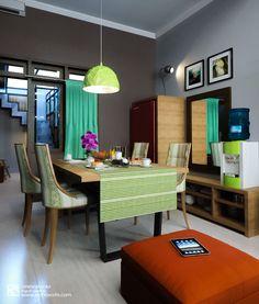 Arsitektur Desain Interior | Ruang Makan | Dining Room | Banung's House