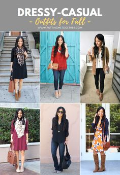 5 Dressy Casual Fall Looks