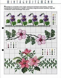 Cross Stitch Patterns free (Borders)