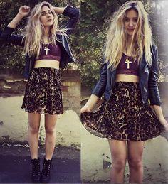 #cheetah#print#skirt#so#cute#love#it