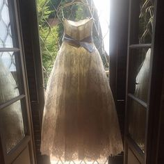 Love at first sight for this Giuseppe Papini wedding dress