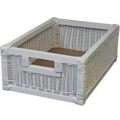 White Cane Basket For Product Code: 6182 Cane Baskets, Wicker Baskets, Wine Bottle Storage, Bamboo Weaving, Corner Storage, Plastic Laundry Basket, Kitchen, Bohemian, Decor Ideas