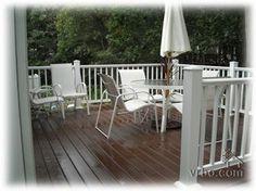 Deck idea Backyard, Patio, Outdoor Furniture Sets, Outdoor Decor, Porch Ideas, Decking, Porches, Outdoor Gardens, Beach House