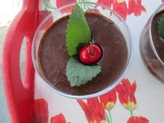 Chocolate Mousse with Chili Powder by @Gloria Baker
