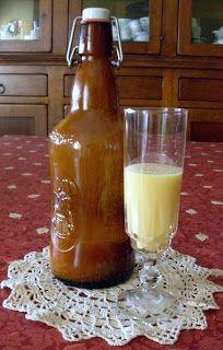 La Regina del Sapone: liquore all'uovo (tipo VOV)