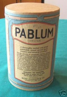 In three doctors from The Hospital for Sick Children in Toronto developed Pablum as a way to prevent and treat rickets in children. Life In The 1950s, Canadian Things, Baby Cereal, Birth Year, Word Of The Day, Mead, Vintage Magazines, Sweet Memories, Vintage Stuff