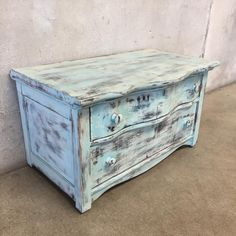 "Upclycled Two Drawer Night Stand  18 1/2"" x 32"" x 20"""