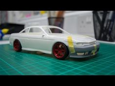 How To: Lowering A Model Car - YouTube