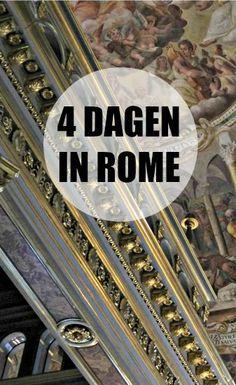 vier dagen Rome programma