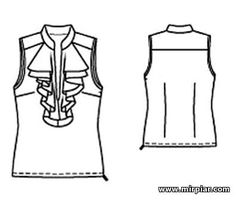 free pattern, блузка, pattern sewing, выкройка блузки, жабо, выкройка жабо, выкройки скачать, выкройка, шитье, выкройки бесплатно, готовые выкройки, мода