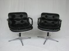 Knoll executive chairs