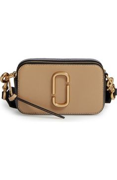 MARC JACOBS Snapshot Leather Crossbody Bag. #marcjacobs #bags #shoulder bags #leather #crossbody #