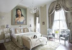 Love the chairs....The Grosvenor Hotel Victoria draws back curtain on the 'Courtesan's Boudoir'