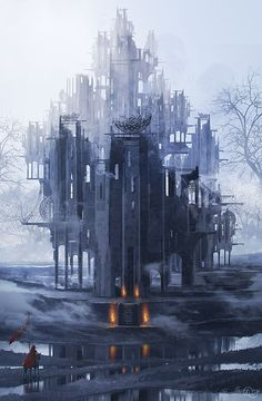 Lost Castle by Miguel Fonseca | Fantasy | 2D | CGSociety