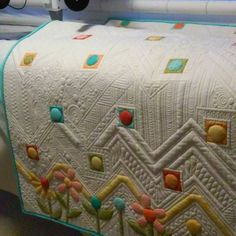 """SNOW DAY! 12inches of snow. Too Much to go to work.....ahhh quilting time. #handiquilter #longarmquilting"""