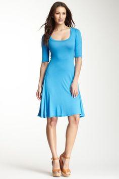 24/7 Comfort Scoop Neck Dress