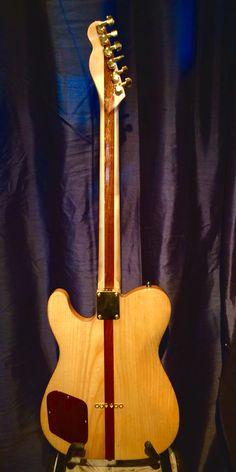 Henrik liep Handcrafted guitar cherry tele