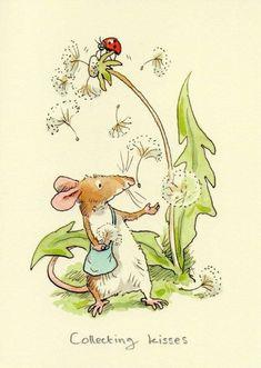 Une belle petite souris avec sa petite sacoche !