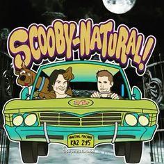 """13x16 o episódio será lançado em Março e o nome do episódio vai ser """" Scoobynatural """""""