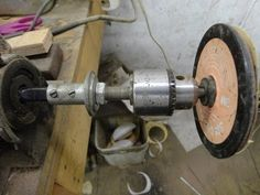 ▶ Homemade All In One Knife Grinder, Buffer, Lathe, Drill - YouTube