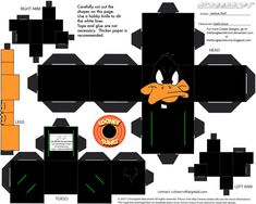 LT2: Daffy Duck Cubee by TheFlyingDachshund.deviantart.com on @deviantART