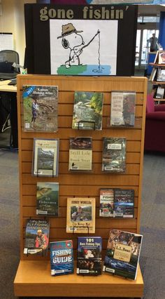 It's that time of year - come and get a copy of the 2017 Kansas Fishing Atlas at Lackman while supplies last! Library Book Displays, Library Ideas, Library Books, Kansas Day, Library Bulletin Boards, School Displays, Library Catalog, Day Book, Expo
