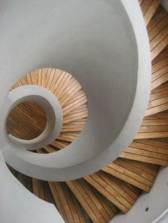 Jagnus Design Studio - Ronac Art Center Staircase Architecture, Amazing Architecture, Circle Stairs, Philippines, Stair Landing, Street Art, Dream Wedding, Shabby Chic, Rustic