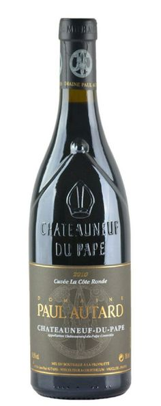 Top #wine selection Dom. Paul Autard, Chateauneuf du Pape 'La Cote Ronde', Rhone, France