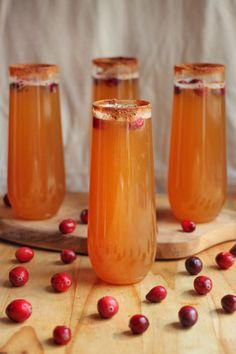 Sparkling Apple Ginger Mocktails