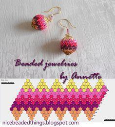 Гарненькі бісерні штучки   Beaded jewelries by Annette: Холі