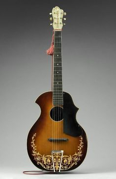Arch-top guitar (Venetian model, style A) Kay Musical Instrument Company (Kay-Kraft Brand), about 1933