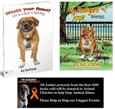 Please get your copy of my book and give our 4-legged Frynds a gift too: Book sales to support Animal Charities ~ Get your copy and Help Us Help Our 4-Legged Frynds I will be donating all of my aut...