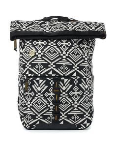 a7949e3524f3 Focused Space Surplus Backpack Front Tribal Prints