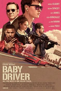 Baby Driver (2017) Directed and Written by #EdgarWright Starring #AnselElgort #KevinSpacey #LilyJames #EizaGonzalez #JonHamm #JamieFoxx #JonBernthal #BabyDriver #Hollywood #hollywood #picture #video #film #movie #cinema #epic #story #cine #films #theater #filming #movies #moviemaking #movieposter #movielover #movieworld #movielovers #movienews #movieclips #moviemakers #drama #filmmaking #cinematography #filmmaker #screen #screenplay #Earthquake Baby Driver, Cheap Watches For Men, Movie Talk, Jon Bernthal, Ansel Elgort, Eiza Gonzalez, Jon Hamm, Kevin Spacey, Lily James