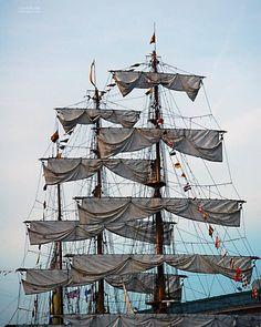 #tallships #bostonharbor #sailing #igboston #igermass #nikond7100 (at Boston Harbor)