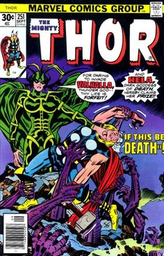 The Mighty Thor no. 251, Jack Kirby. Comic Book