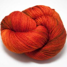 This fantastic hand-dyed yarn comes all the way from Ireland! With a super-soft feel and lovely drape its wonderful in luxurious socks, shawls and garments. Pantone Orange, Hedgehog Fibres, Sock Yarn, Hand Dyed Yarn, Butterfly Wings, Yarn Colors, Knitting Yarn, Color Inspiration, Merino Wool