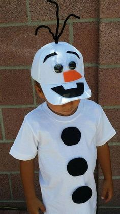 DIY Frozen Olaf Snowman Costume | Your Costume Idea for Halloween, Mardi Gras and Carnival