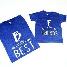 Mommy & Me Best Friends Shirts  Women's t-shirt  by blueenvelope