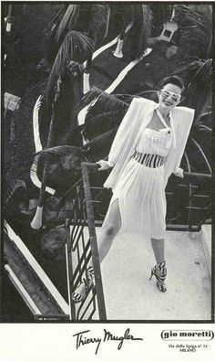 Robin Osler by Helmut Newton for Thierry Mugler, Acapulco