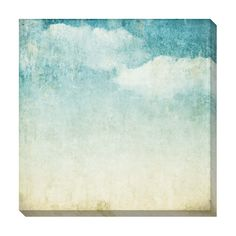 Vintage Clouds I Oversized Gallery Wrapped Canvas | Overstock.com