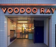 Appease your late night hunger demons at pizza hangout... http://www.we-heart.com/2013/05/10/voodoo-rays-dalston/