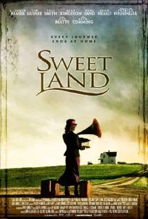 Sweet Land -- Romantic Drama With Elizabeth Reaser and Tim guinee. In Inge, a German national, travels from Norway to rural Minnesota for her arranged marriage to Olaf, a Norwegian farmer; bureaucracy and prejudice cause major complications. Must see! Period Movies, Period Dramas, Downton Abbey, Love Movie, Movie Tv, Movie Club, Movies Showing, Movies And Tv Shows, Top Romantic Movies
