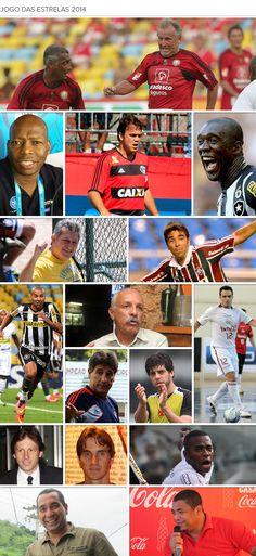 Maracanã recebe Zico com legião estrangeira para Jogo das Estrelas #globoesporte