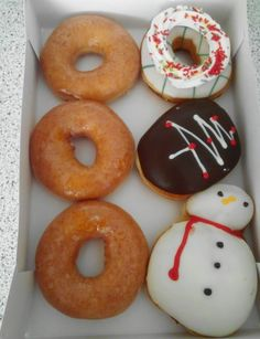 Krispy Kreme Korea Christmas 2014 Box